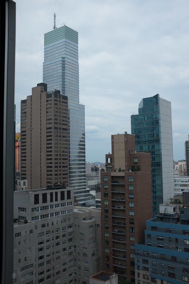 JJ's 29th floor view!