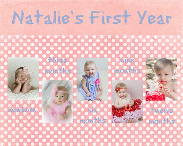 Natalie's First Year Storyboard