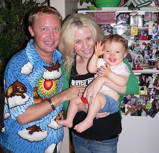 Auntie Nathan, Mama Natasha and Baby Neely 7/24/06