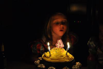 Nora 4th Birthday