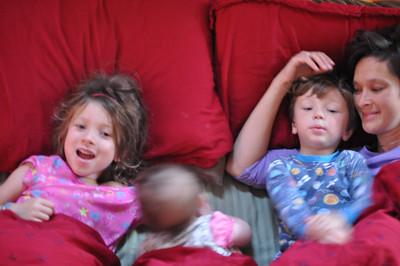 Nora to Kindergarten / Tommy to preschool