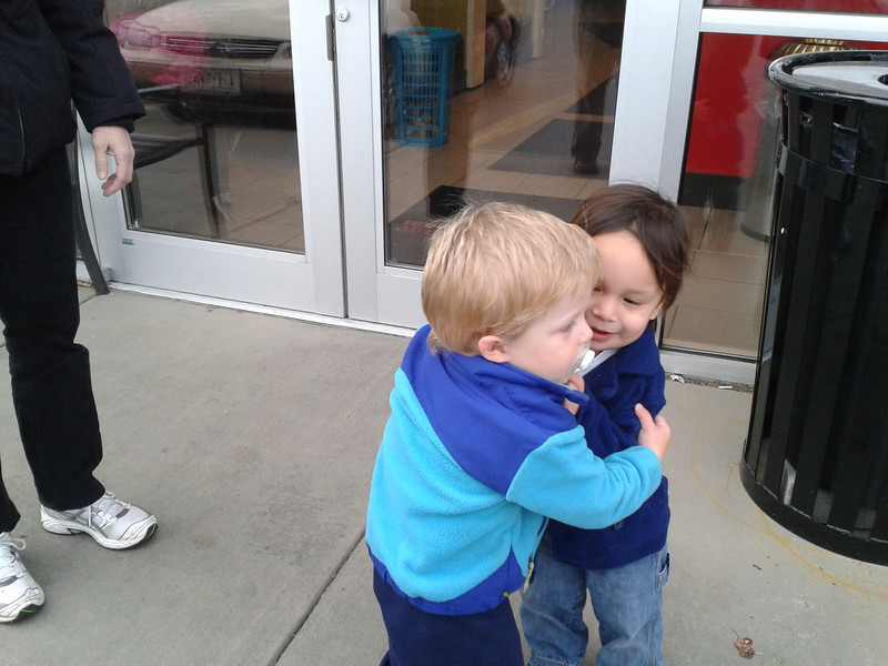 Spit-brotherly love.