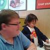 EJ enjoyed his vanilla yogurt with raspberries and cocoa krispies on top!