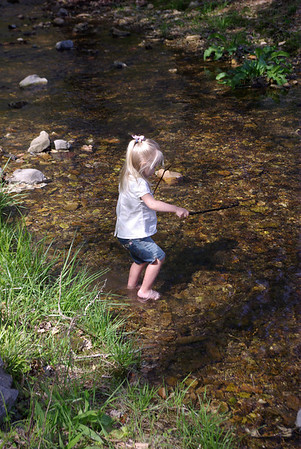 ON THE BANKS OF KEEL SPRINGS WITH THE CHILDREN