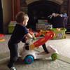 Video - Improving his walking skills.