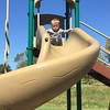 Video - And he loved the spiral slide!