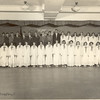 Irv Engel-grade-school-graduation-Irv Tallest Top Row