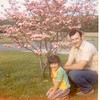 Maryann+Irv Engel-1974-Windswept Drive Ner Trenton NJ-Irv planted the dogwood tree