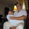 Johnny Goldman+Irv Engel-11-6-04-Irv's Monroe Home