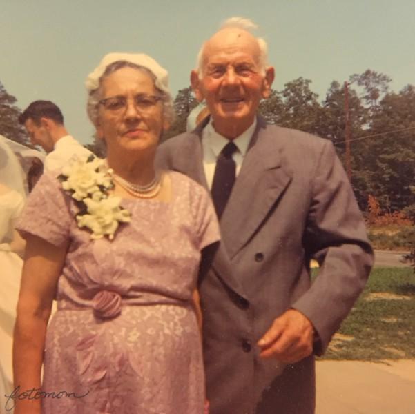 Anna Pius Engel - Robert Adolph Engel - Irv Tia Wedding 1964