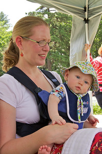 Clara & Kieran at Old Home Day