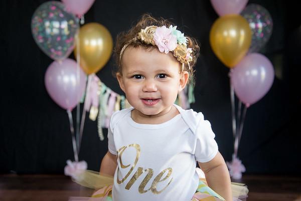 Olivia-1 year!