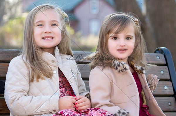 Olivia and Isla