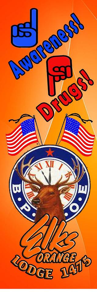 Orange Elks Lodge #1475 - Drug Awareness Bookmarks 2013