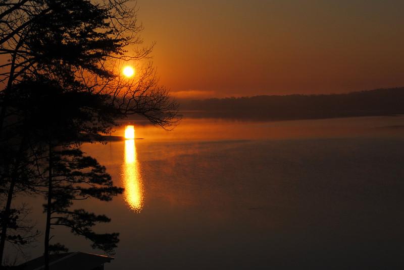 Sunrise Friday morning