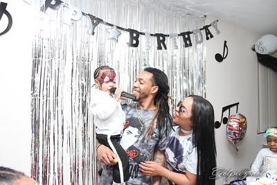 PRINCE-SHAMAAR MICHEAL JACKSON'S 3RD BIRTHDAY