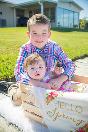 Page Children Easter Mini Session