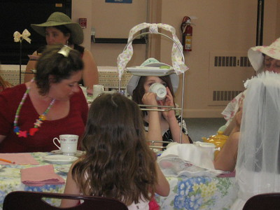 Mother/Daughter Tea Party 2009