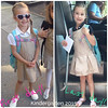 First and last days of Kindergarten