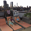 20140822 Movie night on the roof