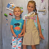 Penny first day of kindergarten