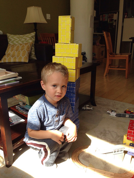 Built Empire State Building in blocks