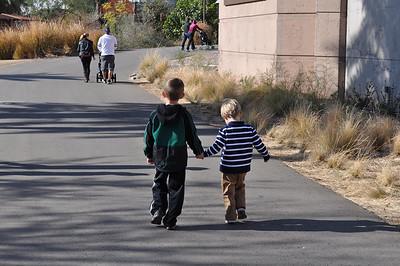 Phoenix Zoo with the Cuz's