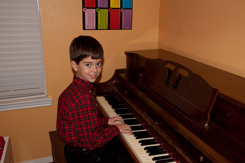 Kevin - Christmas Piano Recital 2010