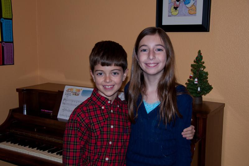 Kevin - Christmas Piano Recital 2010