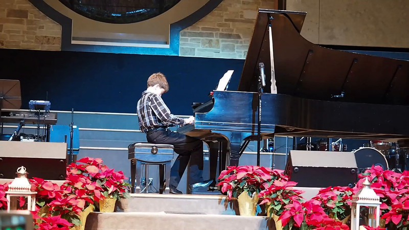 Kevin's Christmas Piano Recital 2014