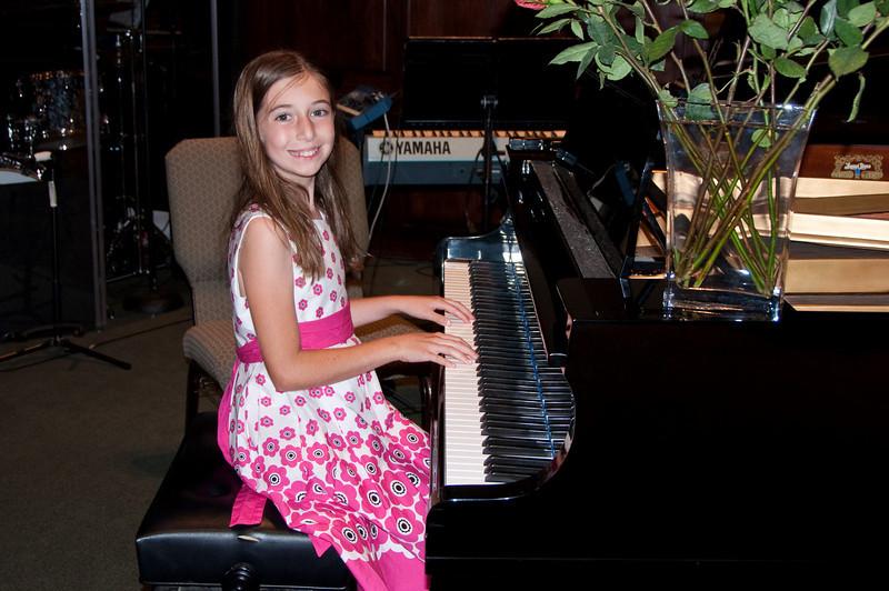 Katie's Piano Recital 5-27-2010