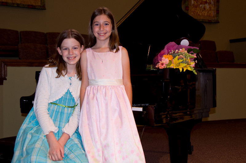 Katie piano recital and soccer party