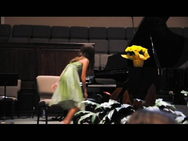 Katie's Spring Piano Recital - Musetta's Song by Giacomo Puccini