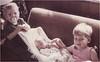 New baby sister Sarah, June 1971