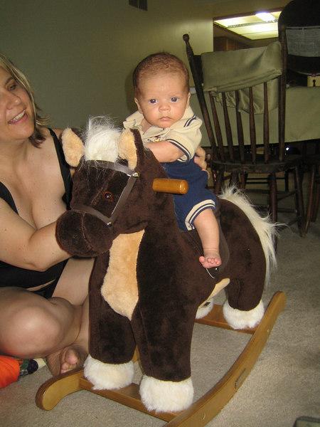 Rocking horse ride