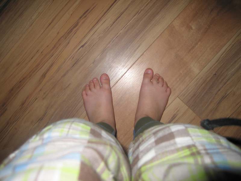 Owen's toes