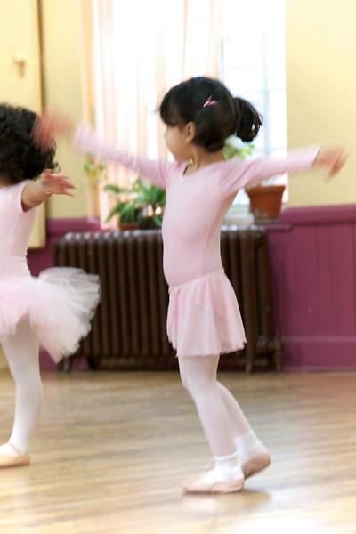 Pink twirls
