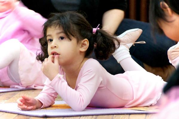 Cyane our aspiring ballerina