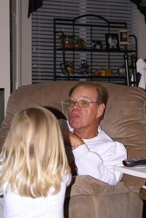 Pop Pop Dan with the Girls
