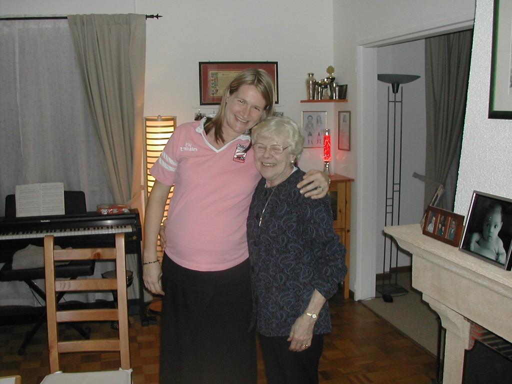 019 Sarah & Mum Dec 4th