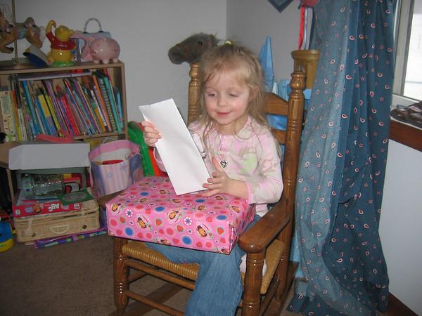 Rachel's 4th Birthday