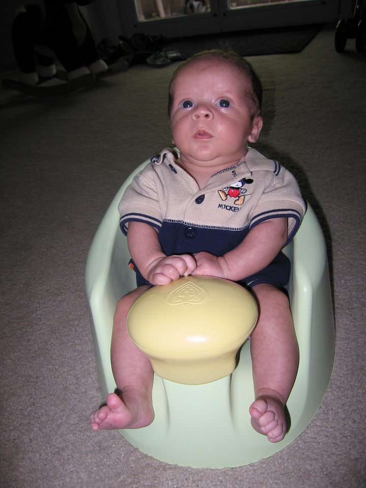 Owen in his chair from the Meridian West gang