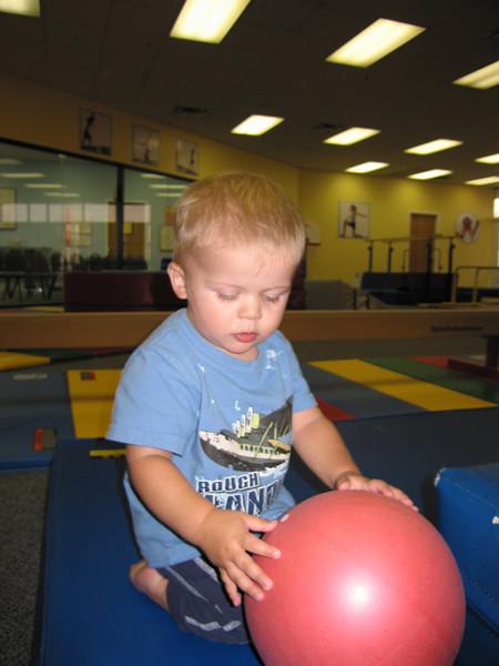 September 13, 2007 - Little Gym session