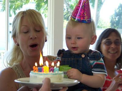 Ranier's First Birthday