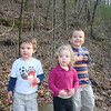We went hiking at Ruffner Mountain on Valentine's Day.  Caleb, Reese, and Luke had fun, but all were tired by the end.