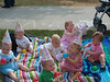 """Here is a picture of some of the """"Edgewood Babies"""" at Evie's birthday party."""