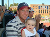 Uncle Ross thought Reese was so cute, he bought her a Samford Cheerleading uniform.