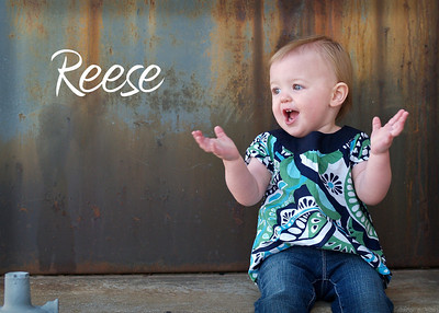 Reese is ONE! (discount expires 4/25)