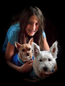 12/26/11:  Regan, Bailey, and Paco.