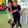 with Ayaka-sensei (teacher)